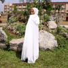 HABEEBAT Teemah hooded Abaya C
