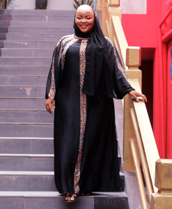 Habeebat_Baheera_black_Multicolored_stoned_Abaya
