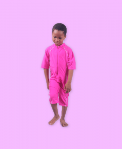 Habeebat Adla pink kids swim suit