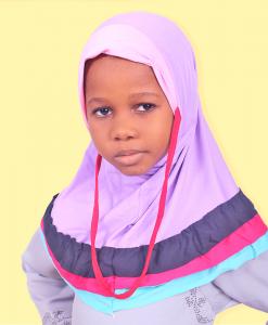 Habeebat Aeesha Lilac Layered kids Hijab
