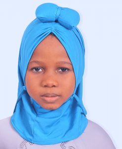 Habeebat Hamzat Blue Kids Hijab
