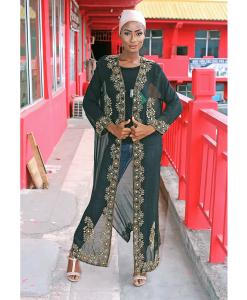Habeebat Madia Kimono Abaya