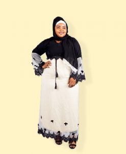 Habeebat Ajeebah Embroidered Abaya