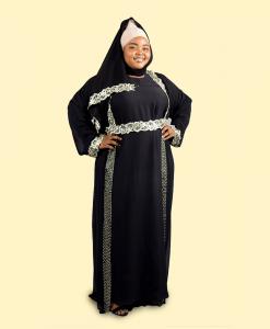 Habeebat Foziah Embellished Abaya (1)