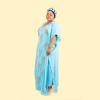 Habeebat Taiba' Blue Kaftan 1b
