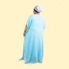 Habeebat Taiba' Blue Kaftan 1c