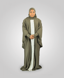 Habeebat_ Arwa_Embroidered_Grey_Abay_ Hijab `1a