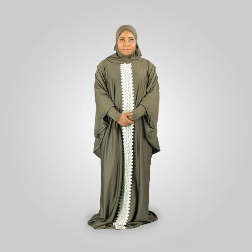Habeebat_ Arwa_Embroidered_Grey_Abay_ Hijab `1a