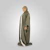 Habeebat Arwa Embroidered Grey Abaya Hijab `1b