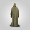 Habeebat Arwa Embroidered Grey Abaya Hijab `1c