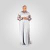 Habeebat Badriyah Animal Skin themed Abaya Hijab 1a