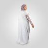 Habeebat Badriyah Animal Skin themed Abaya Hijab 1b
