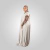 Habeebat Badriyah Animal Skin themed Abaya Hijab 1v