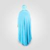 Habeebat Durra Blue Abaya Hijab 1c
