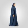 Habeebat Kamilat Blue Abaya Hijab 1b