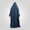 Habeebat Kamilat Blue Abaya Hijab 1c