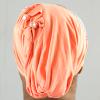 Habeebat Azraa peach Stoned Turban 1b