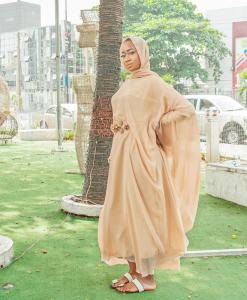 Habeebat Halimat Brown Bridal Abaya
