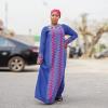 Habeebat Hamida Blue Abaya