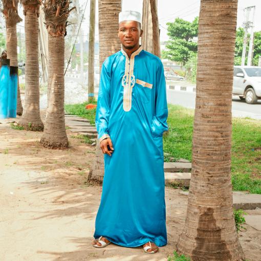 Habeebat Sodiq Blue Jalab